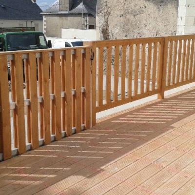 clôture bois nantes 44 TBP bois 44