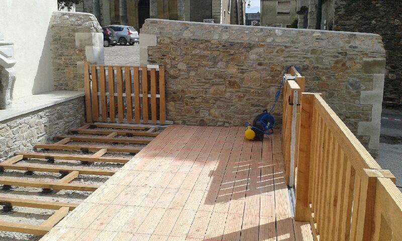 Nantes bois 44 lame de terrasse et lame de cl ture tbp - Cloture en bois pour terrasse ...
