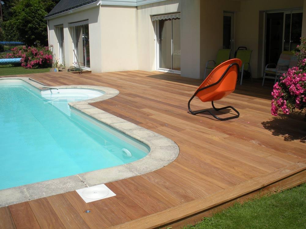 Pornic bois terrasse piscine 44